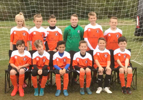 A new kit for Bury Town FC Under 11's