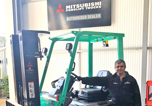 Eastern Forklift Trucks welcomes Dave McQueen