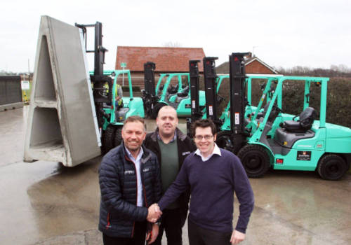 Suffolk-based Poundfield Products invests in new forklift fleet
