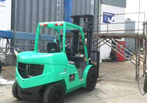 All aboard with Eastern Forklift Trucks!
