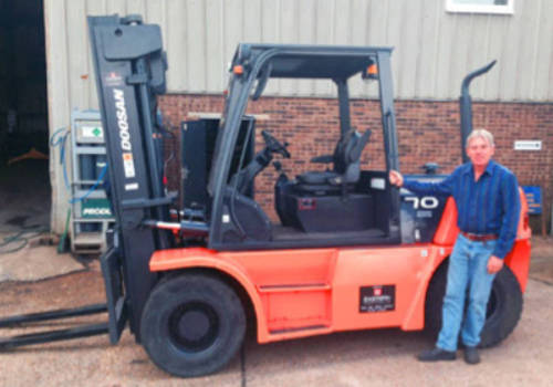 A new Doosan from Eastern Forklift Trucks is just the job