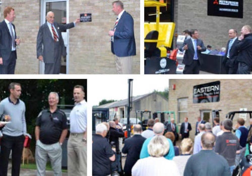 Official Opening of Eastern Forklift Trucks