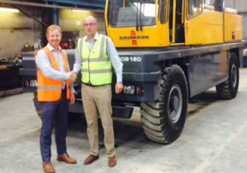 Poundfield find the solution in Eastern Forklift Trucks
