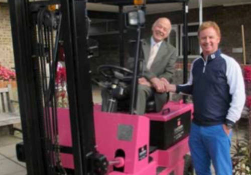 Eastern Forklift Trucks are pleased to be able to help St Nicholas Hospice
