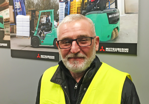 We welcome Mark Brown - Forklift Training Manager