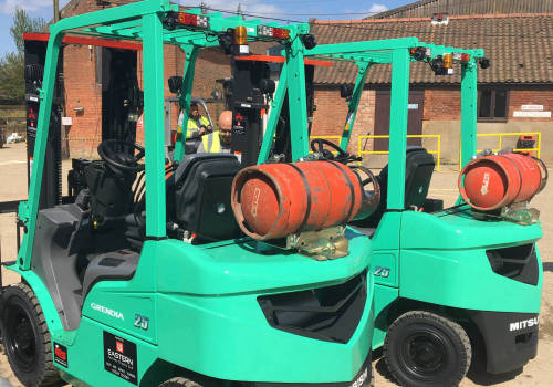 The right place for a Mitsubishi Forklift Truck
